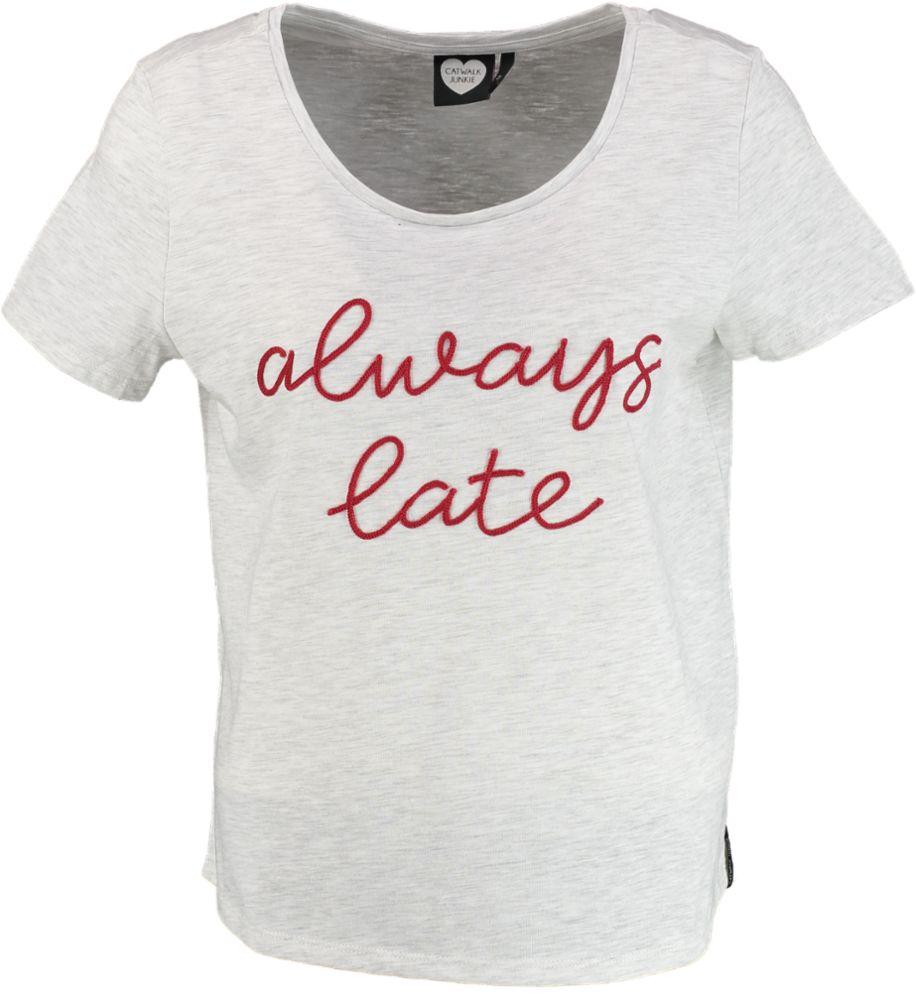 Catwalk Junkie T-shirt TS ALWAYS LATE