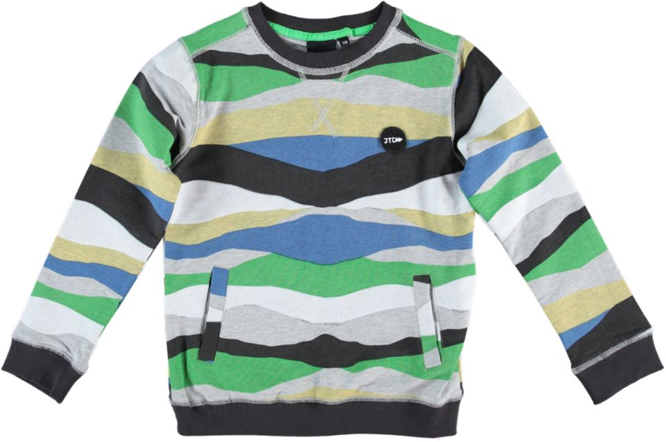 Jumping T C Sweater