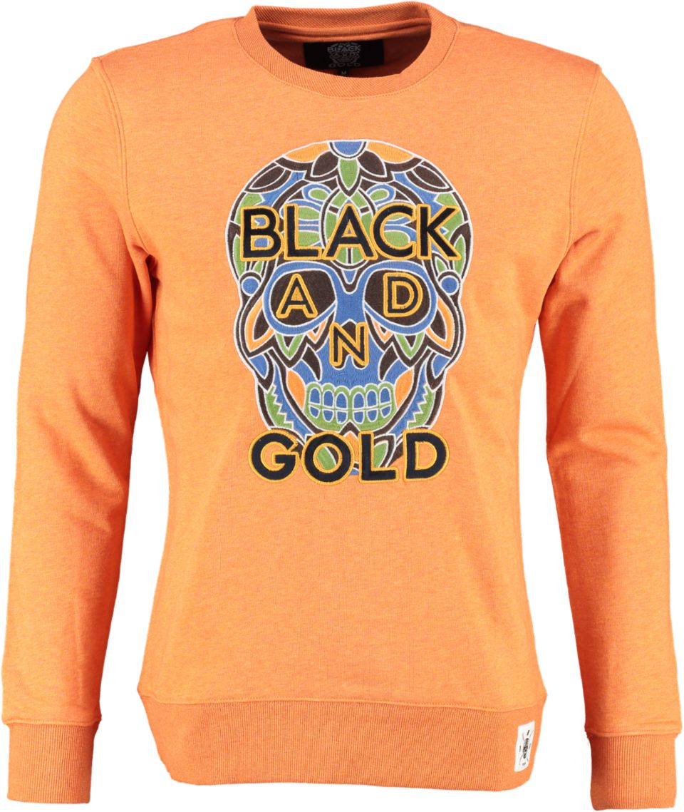 Black And Gold Sweater CRANEO TOWAL