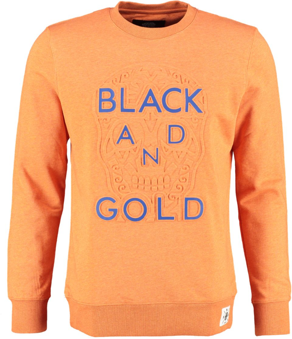 Black And Gold Sweater EMBOSSAS