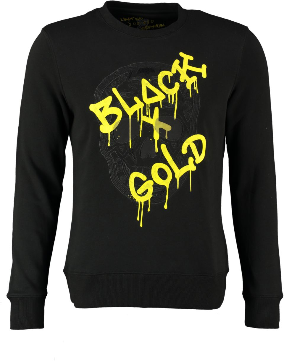 Black And Gold Sweater CRANEO