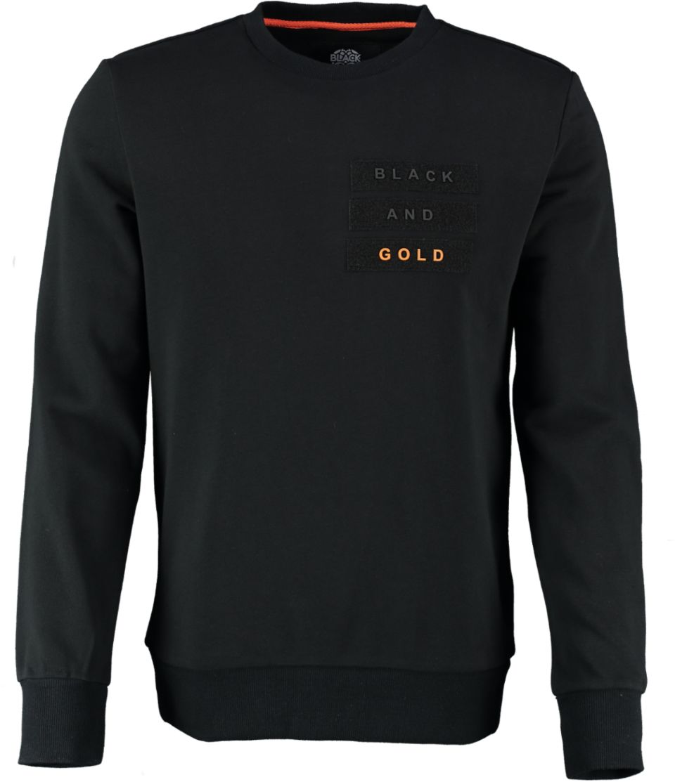 Black And Gold Sweater VELCRO