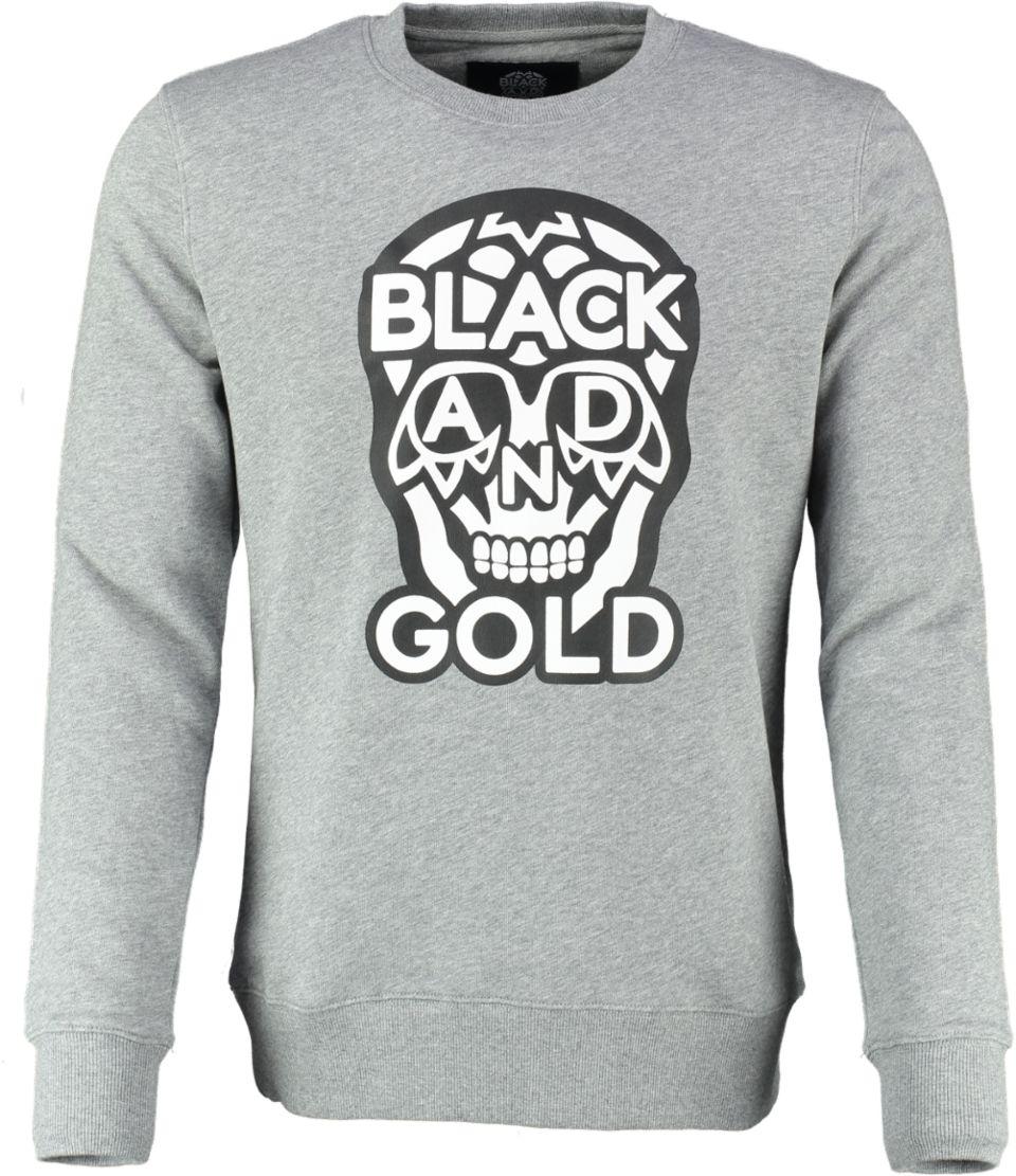 Black And Gold Sweater BIGLOGOS