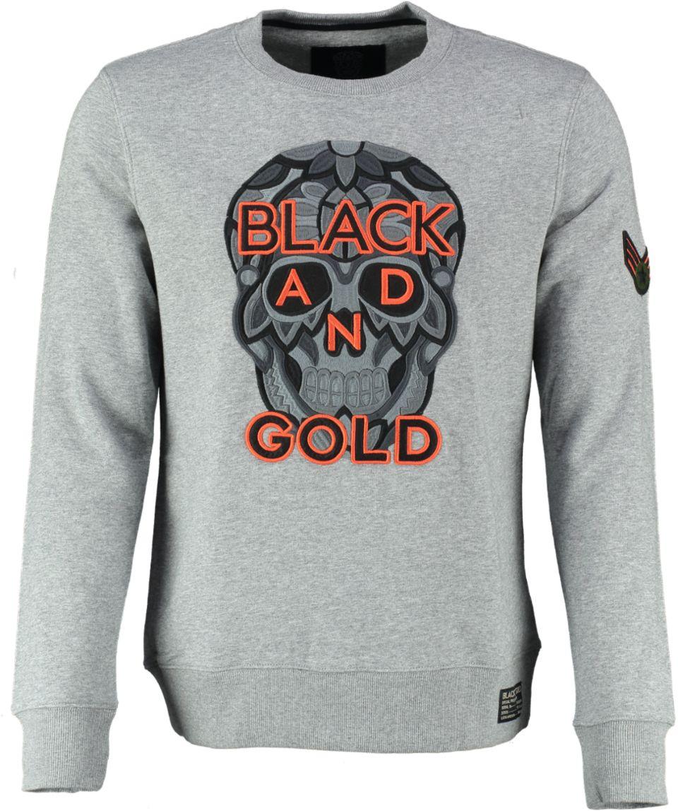 Black And Gold Sweater SOLDADO
