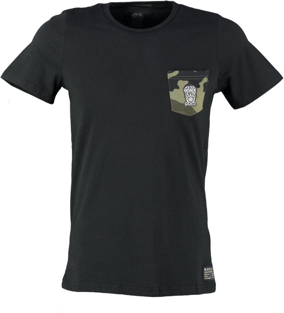 Black And Gold T-shirt TIRADOR