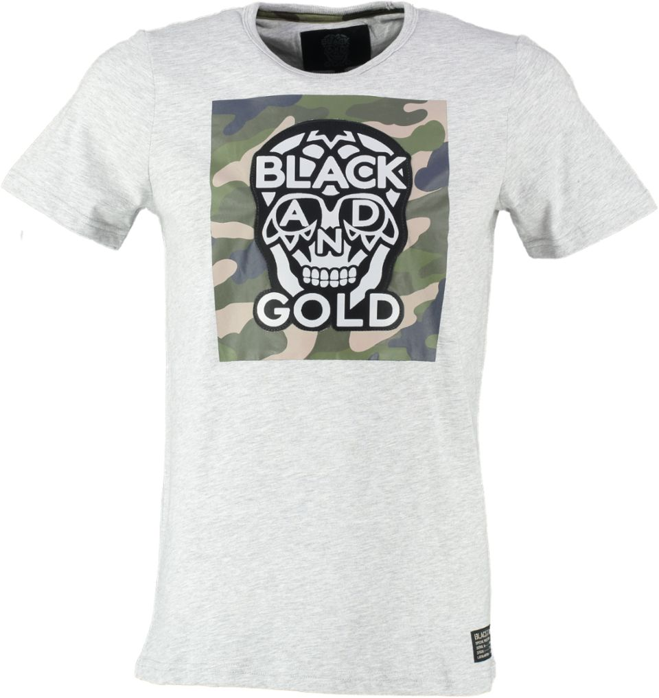 Black And Gold T-shirt PARACAIDOS