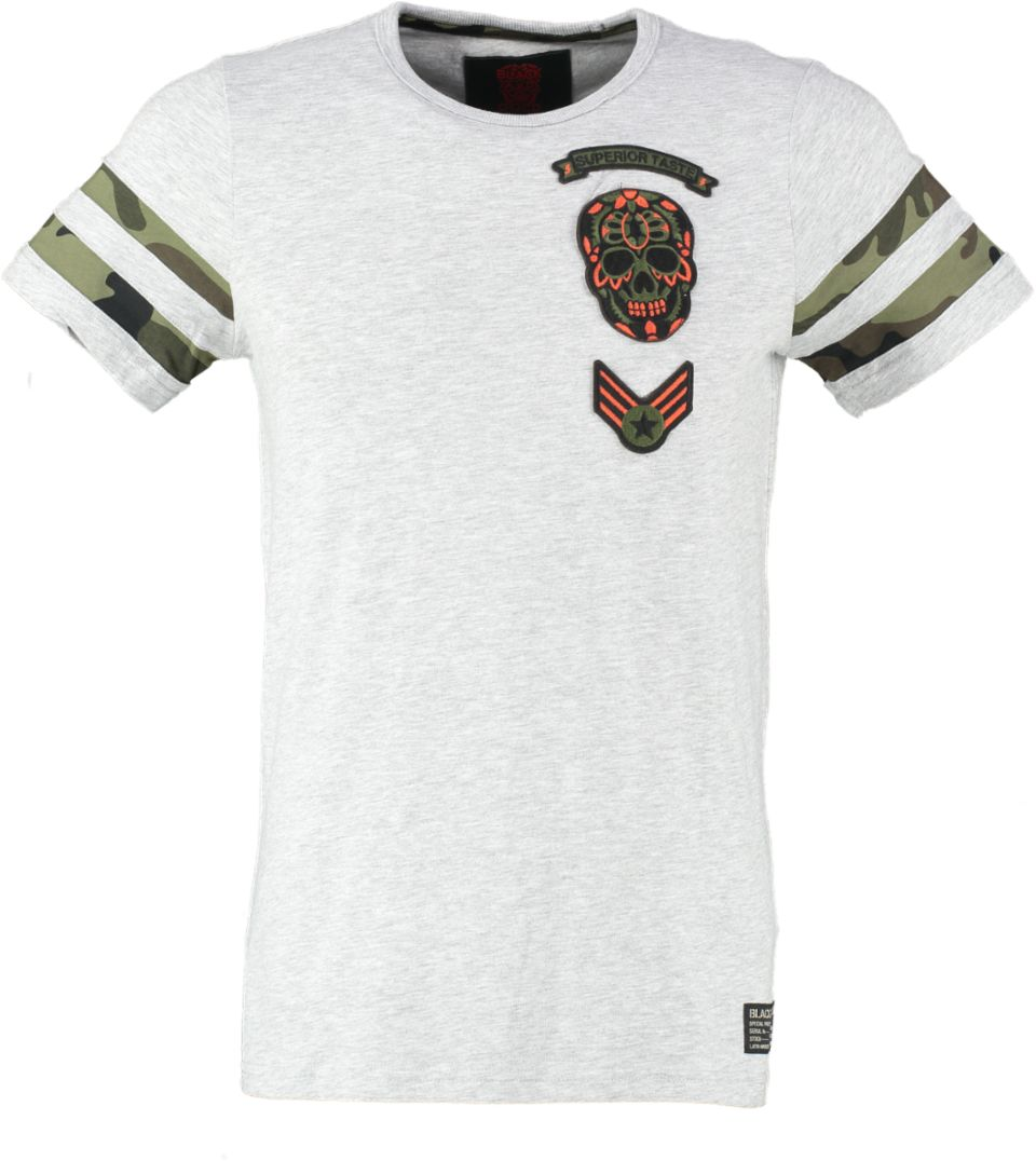 Black And Gold T-shirt MILITARTI